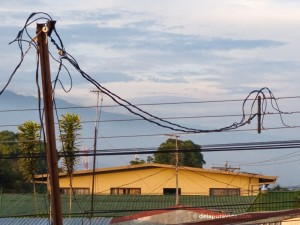 electrical wires in Costa Rica