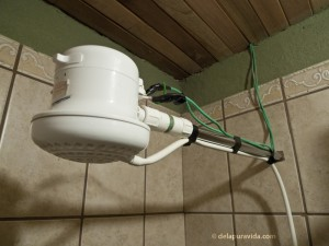 Tico shower head