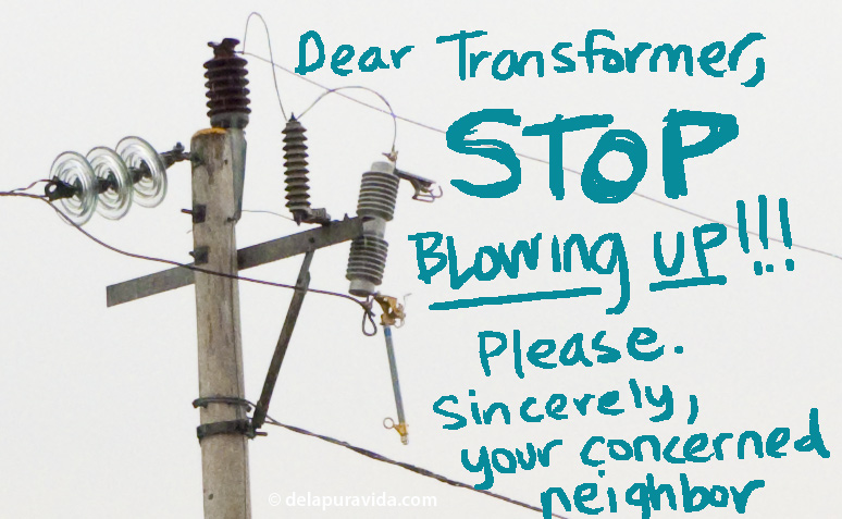 My note to the transformer