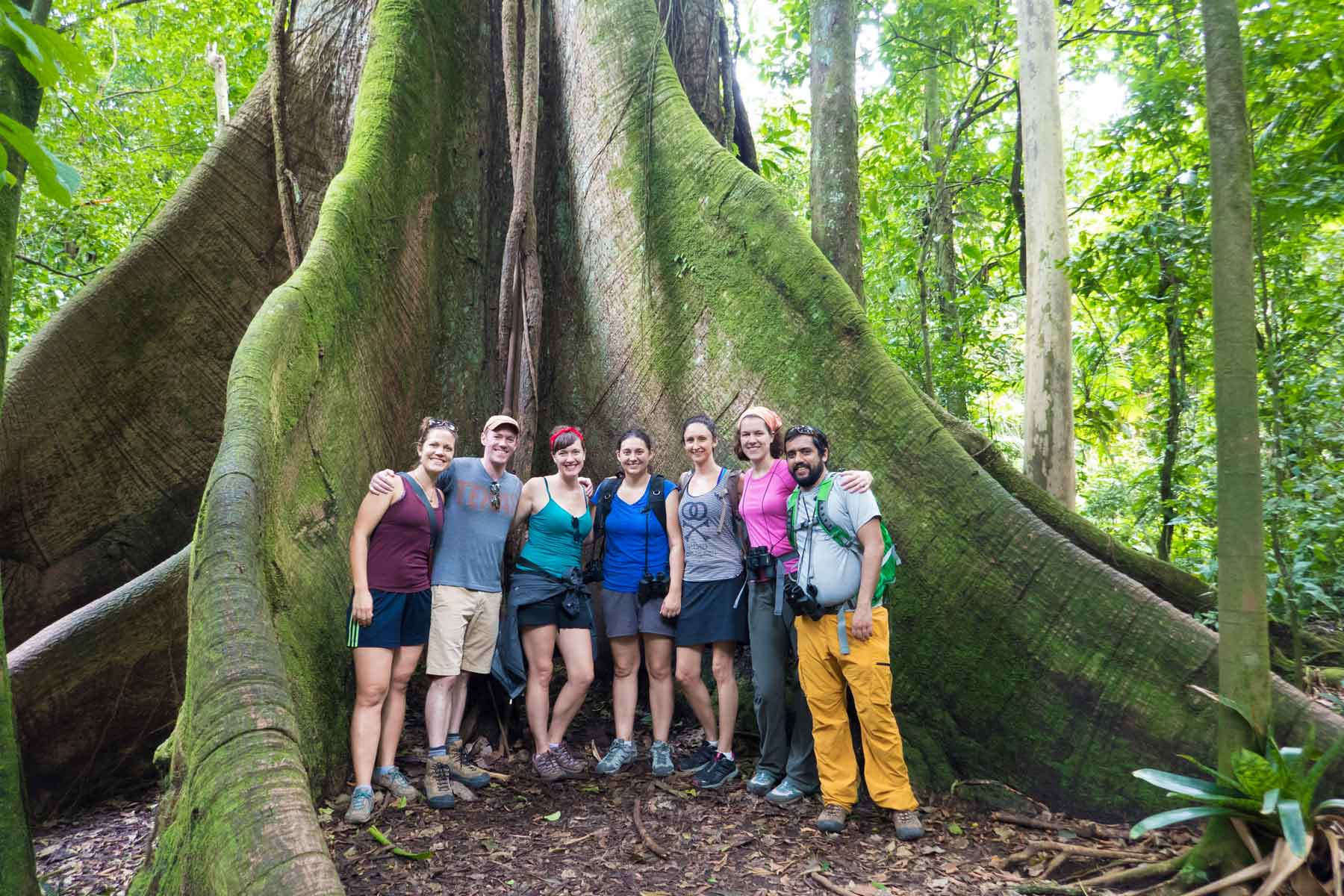 friends in arenal national park, costa rica