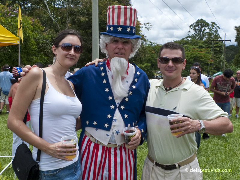 Drinking Imperial beers with Uncle Sam