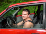 Off-roading in a Ford Festiva to Pavones, Costa Rica
