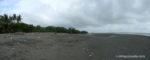 Beach in Pavones, Costa Rica
