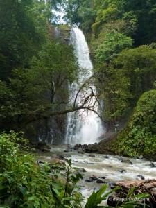 Los Chorros 60m (180ft) Waterfall