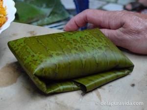 folded tamale