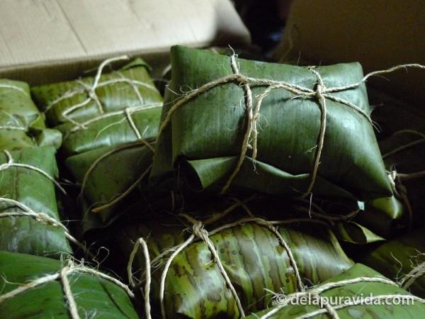 Costa Rican Christmas Tamales