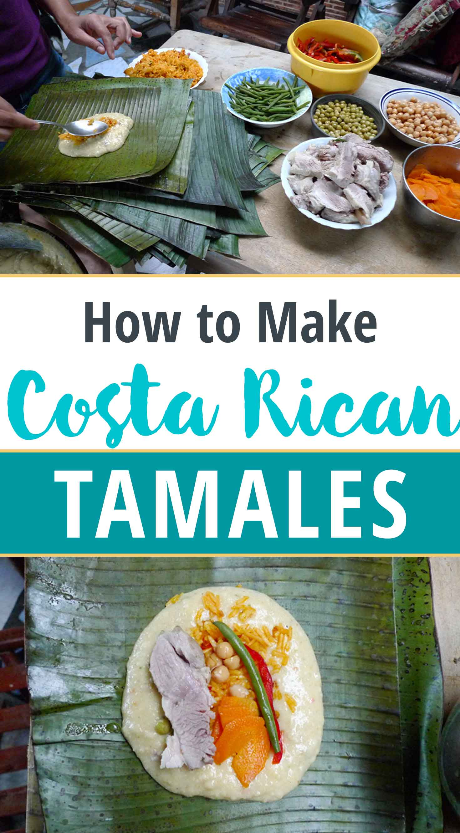 How to Make Costa Rica Christmas Tamales