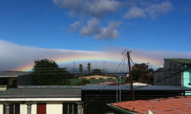Rainbows over Costa Rica