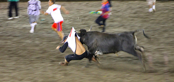 costa rica bullfighting