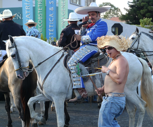 horse parade in costa rica