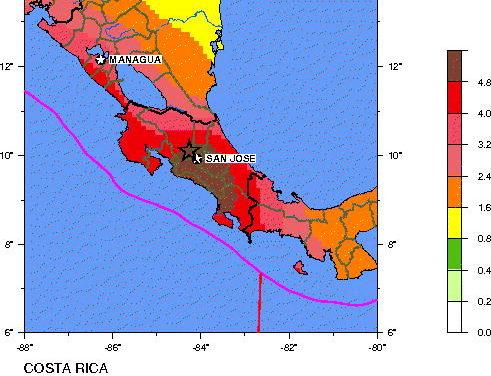 Powerful 6.0 Friday the 13th earthquake strikes Costa Rica
