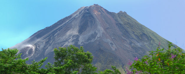 Best view of Arenal Volcano: Arenal Observatory Lodge