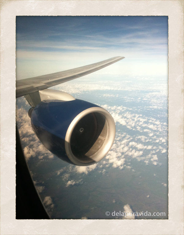 Winning! My view from first class