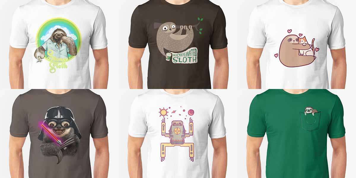 sloth shirts