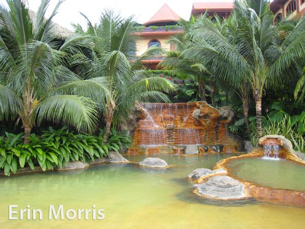 Hot Springs in Arenal, Costa Rica