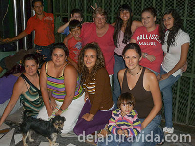 learning spanish with costa rican family