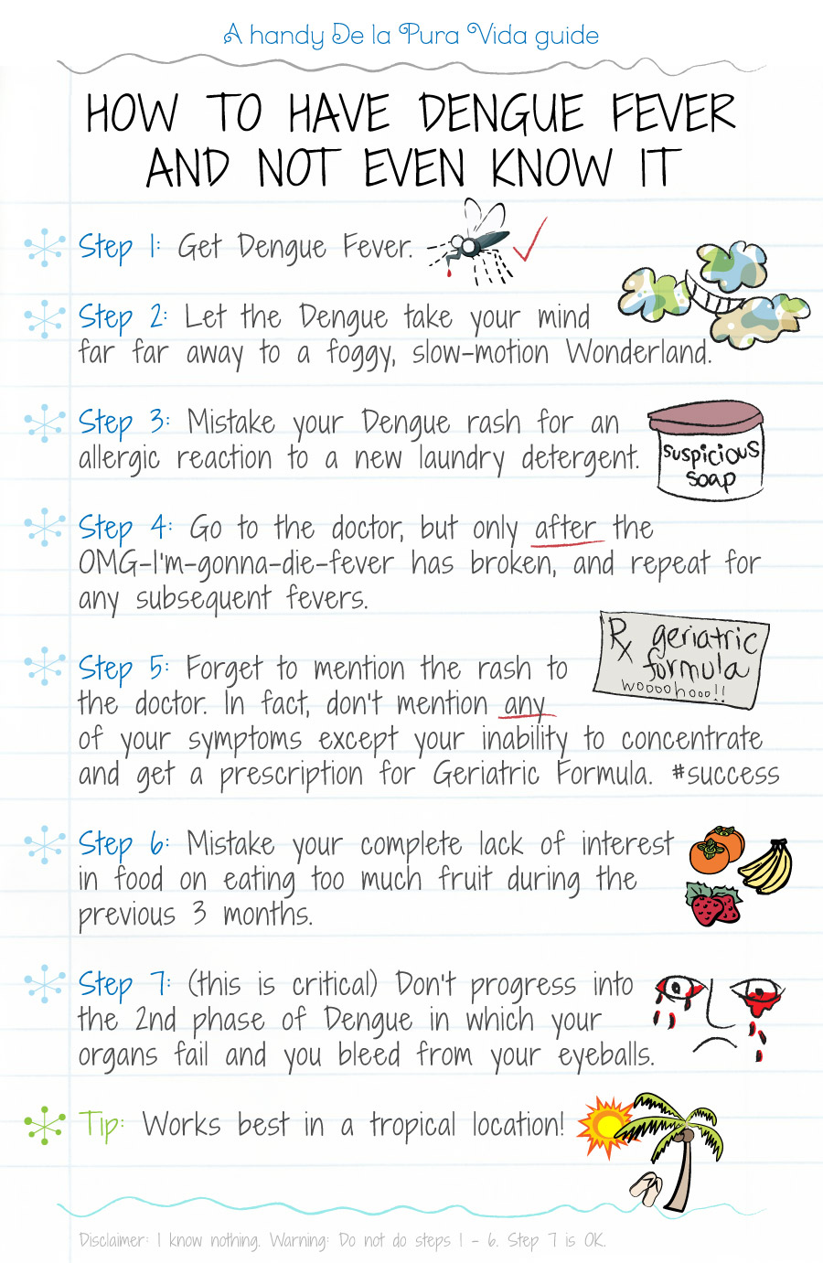 How To Have Dengue Fever And Not Even Know It