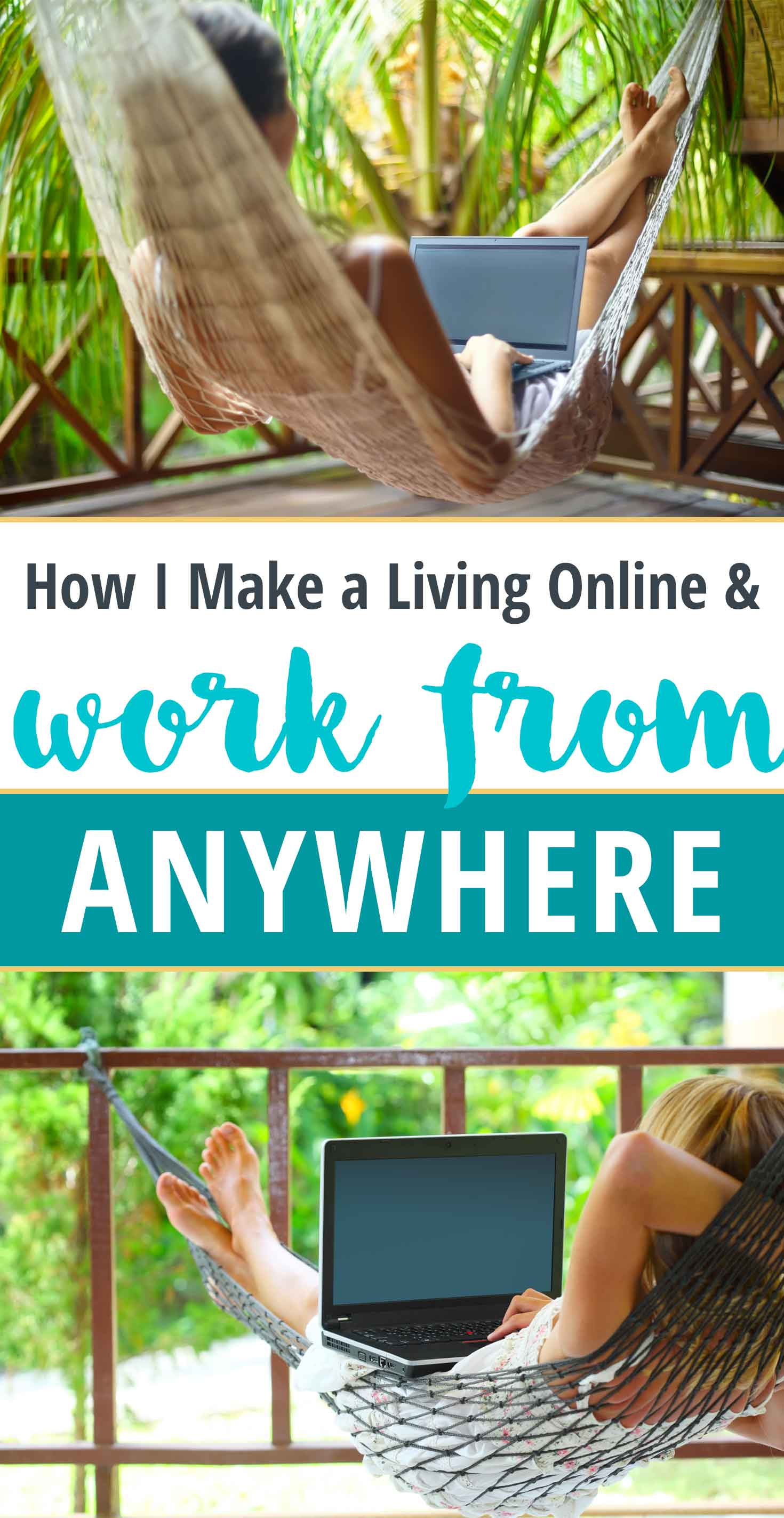 How I make a living and work from anywhere. Freedom through location independence!