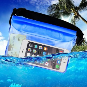 waterproof pouch case for phone and money with a lot of space