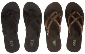my favorite flip flops for tropical living