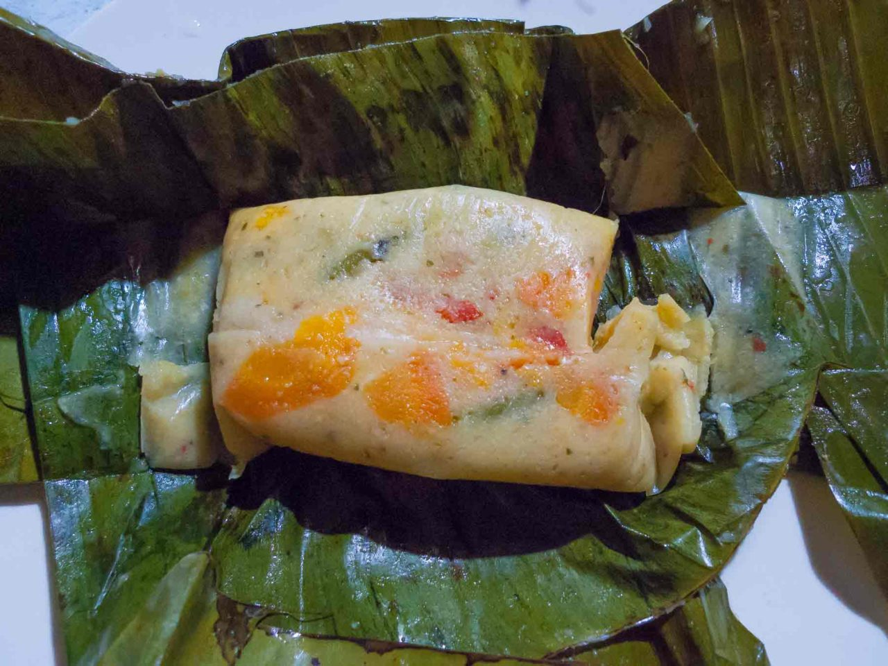 Costa Rican Tamales - ready to eat! Recipe with photos