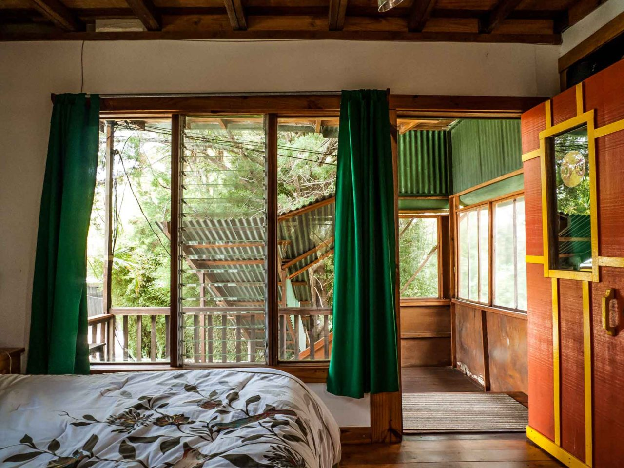 my bedroom in the treehouse