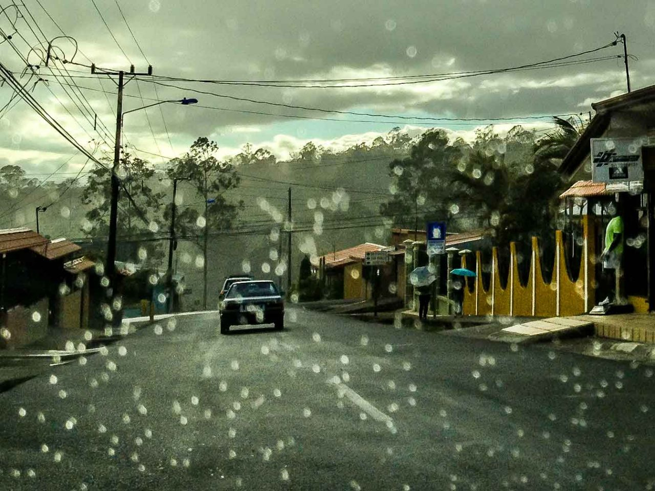 rainy day in heredia costa rica