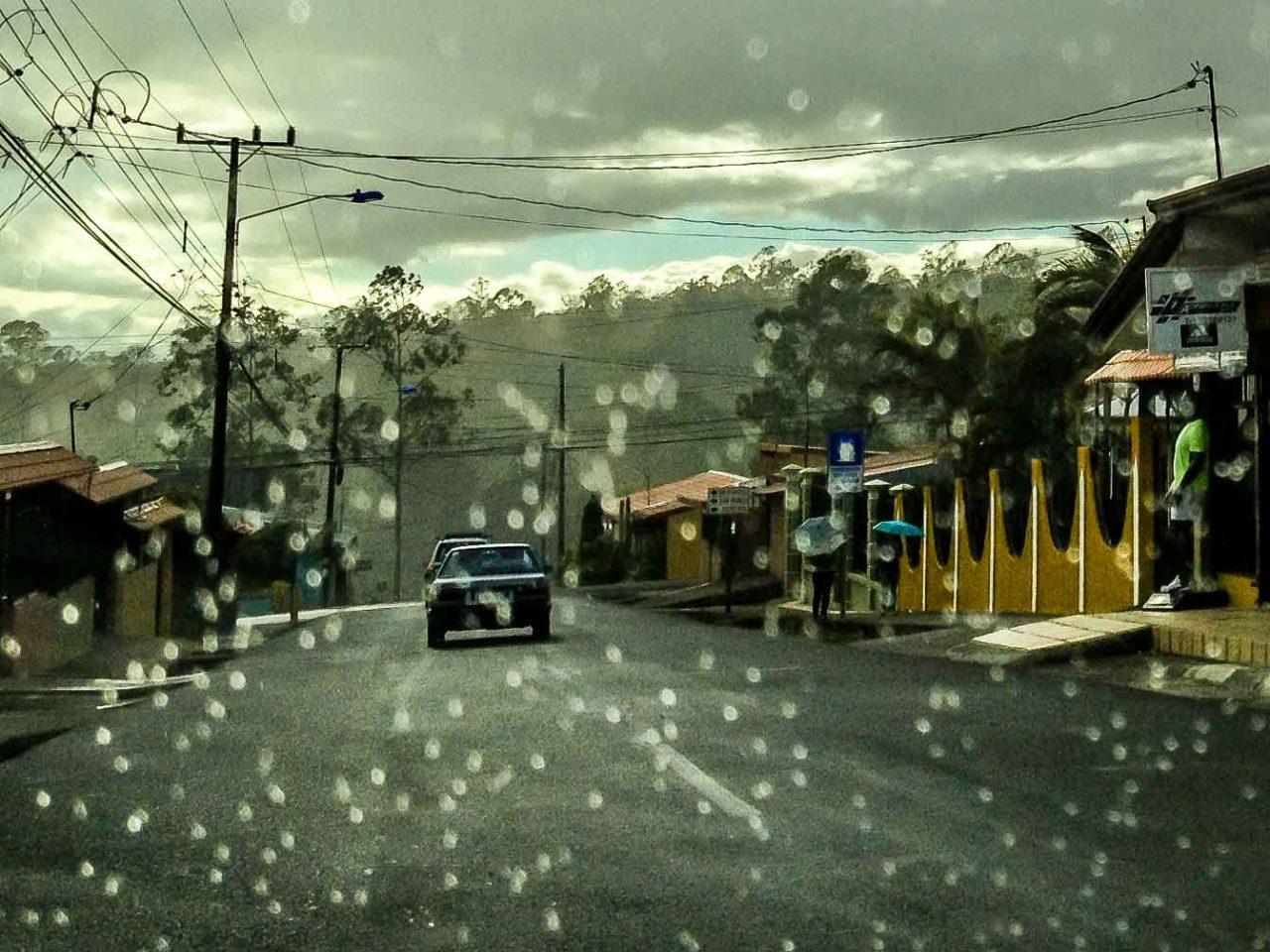 rainy day in heredia costa rica