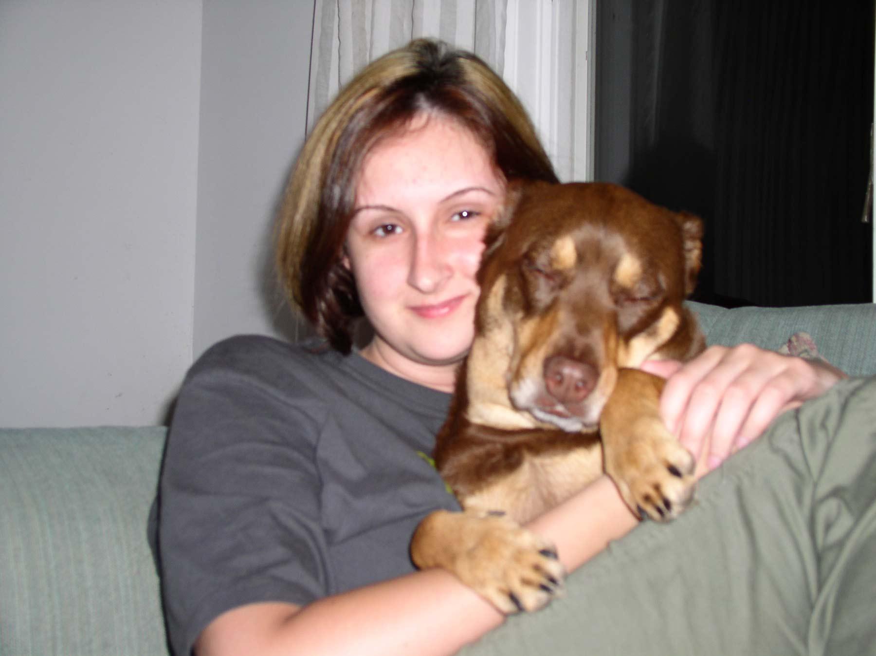 me and mocha